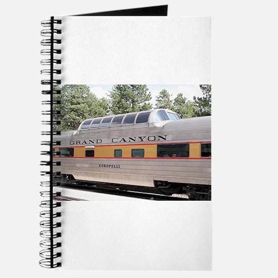 Railway carriage, Grand Canyon, Arizona, U Journal