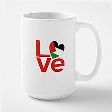 Red Palestinian LOVE Mugs