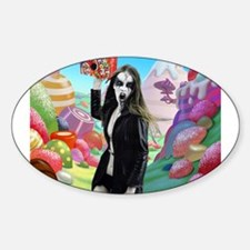 Goth Girl In Candyland 001 Decal