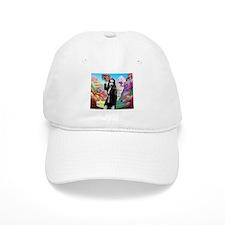 Goth Girl In Candyland 001 Baseball Cap