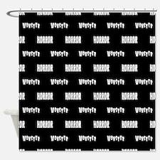 Monster Horror Shower Curtain