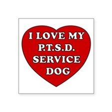 SERVICE DOG Sticker
