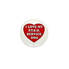 SERVICE DOG Mini Button
