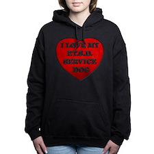 SERVICE DOG Women's Hooded Sweatshirt