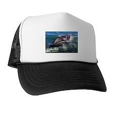 Gray Whale Baby Trucker Hat