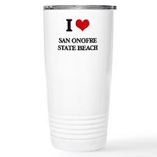 I Love San Onofre State Travel Mug