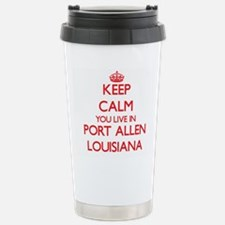 Keep calm you live in P Stainless Steel Travel Mug
