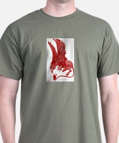 Red Ochre Hippogryph T-Shirt