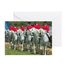 Andalusian Lineup Pastels Greeting Cards
