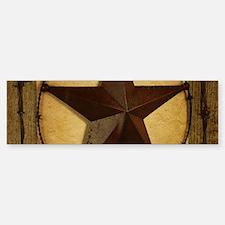 texas star horseshoe western Bumper Bumper Bumper Sticker