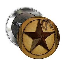 "Primitive texas star 2.25"" Button (10 pack)"