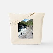 Vancouver Island river Tote Bag