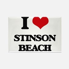 I Love Stinson Beach Magnets