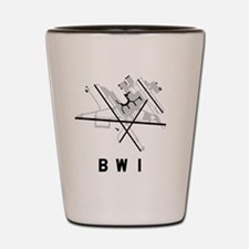 Funny Bwi Shot Glass