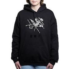 Unique Bwi Women's Hooded Sweatshirt