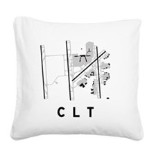 Bwi Square Canvas Pillow