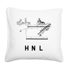 Cool Bwi Square Canvas Pillow