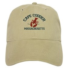 Baseball Cape Cod - Lobster Design. Baseball Cap