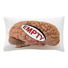 EMPTY BRAIN Pillow Case