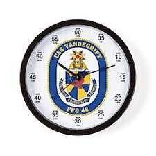 USS Vandergrift FFG-48 Wall Clock