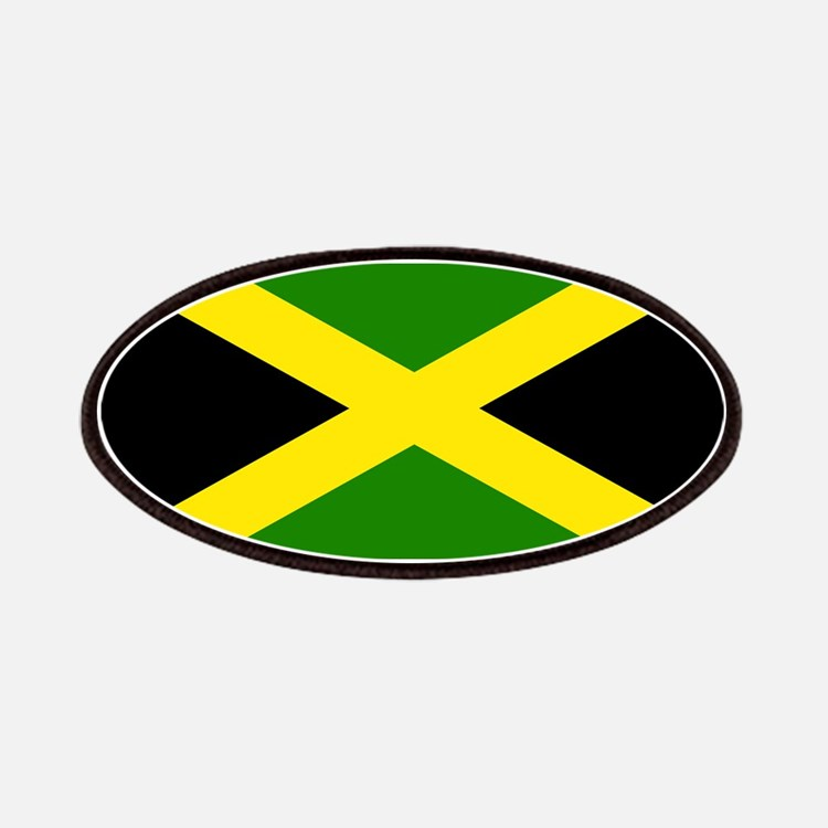 Jamaican Flag Patches