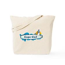 Cape Cod- Surf Design. Tote Bag