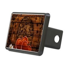 country love horseshoe woo Hitch Cover