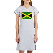 Jamaican Flag Women's Nightshirt