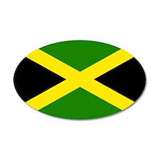 Jamaican Flag Wall Decal