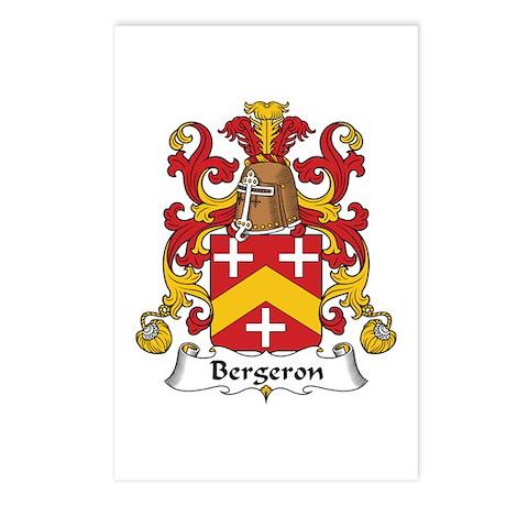 Bergeron Postcards (Package of 8)