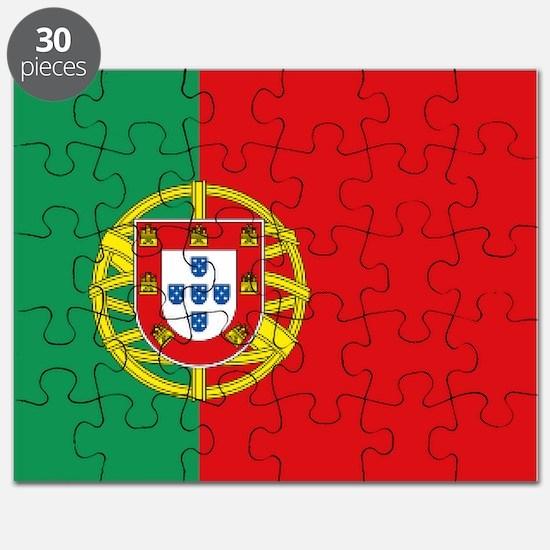 Portuguese flag Puzzle