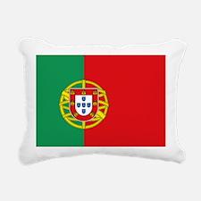 Portuguese flag Rectangular Canvas Pillow