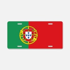 Portuguese flag Aluminum License Plate