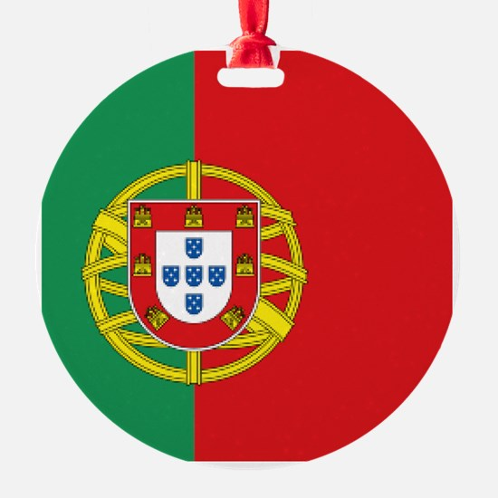 Portuguese flag Ornament