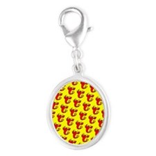 Cute Cheeky Lobster Red Yellow Designer Charms