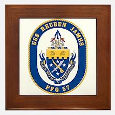USS Reuben James FFG-57 Framed Tile