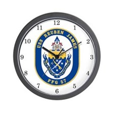 USS Reuben James FFG-57 Wall Clock