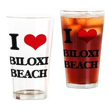 Unique Biloxi mississippi Drinking Glass