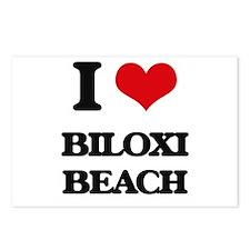 I Love Biloxi Beach Postcards (Package of 8)