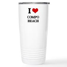 I Love Compo Beach Travel Mug
