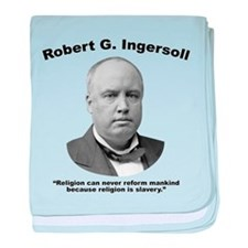 Ingersoll: Slavery baby blanket