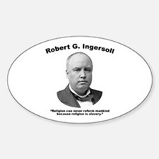 Ingersoll: Slavery Decal