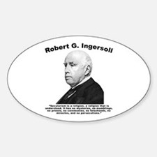 Ingersoll: Secularism Decal