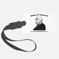 Ingersoll: Science Luggage Tag