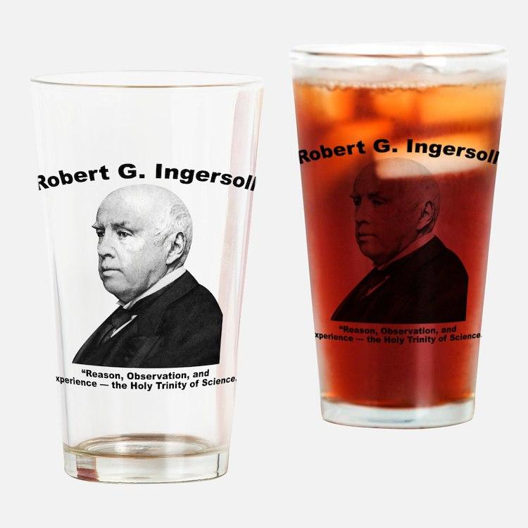 Ingersoll: Science Drinking Glass