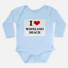 I Love Waveland Beach Body Suit