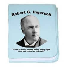 Ingersoll: Rights baby blanket