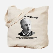Ingersoll: Rights Tote Bag