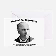 Ingersoll: Rights Greeting Card