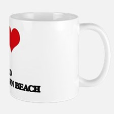 I Love Fred Benson Town Beach Mug
